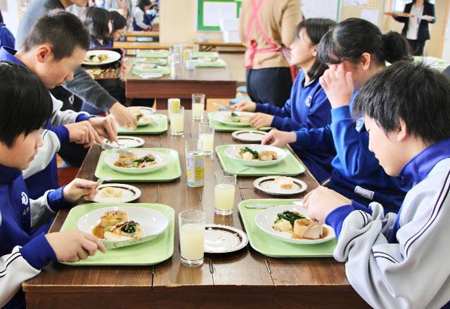 地元小学生の食育